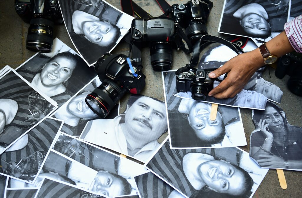 periodistas Foto: Internet