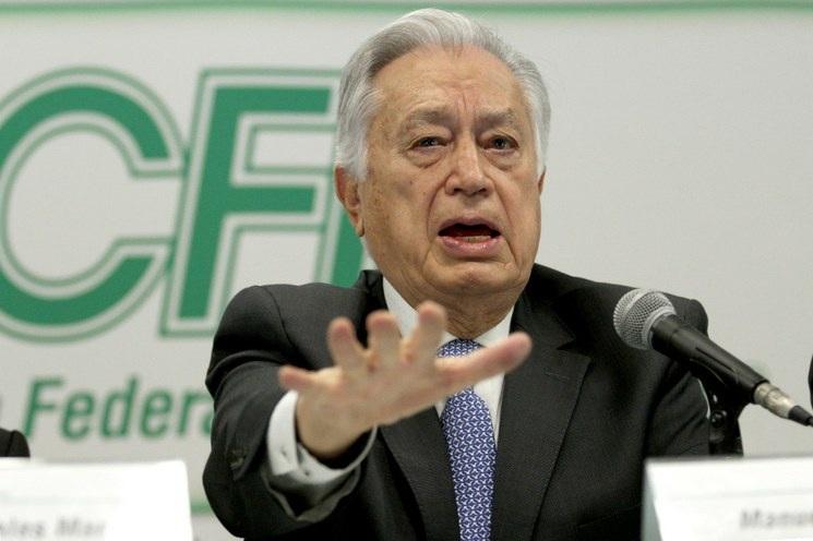 Manuel Bartlett Díaz Foto: La Jornada