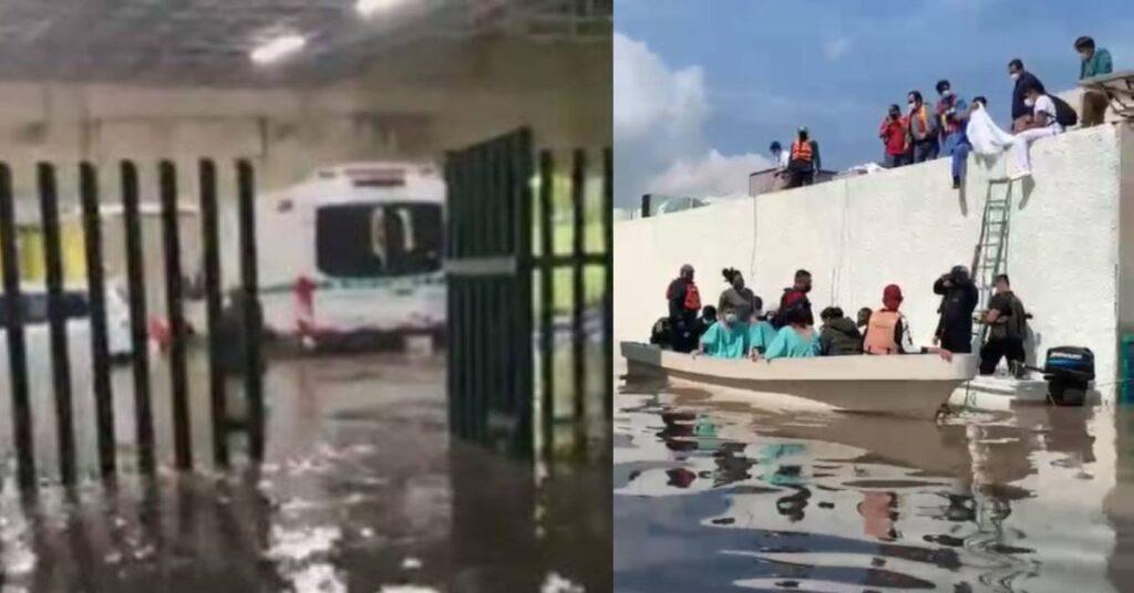 AMLO lamentó fallecimiento de 17 pacientes, consecuencia de fuertes lluvias Foto: Regeneración