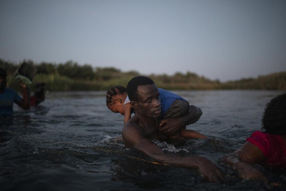 El drama de los migrantes haitianos en EUA