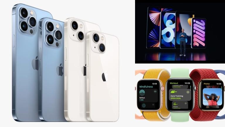 iPhone 13, Apple Watch y iPad lo nuevo de Apple este 2021