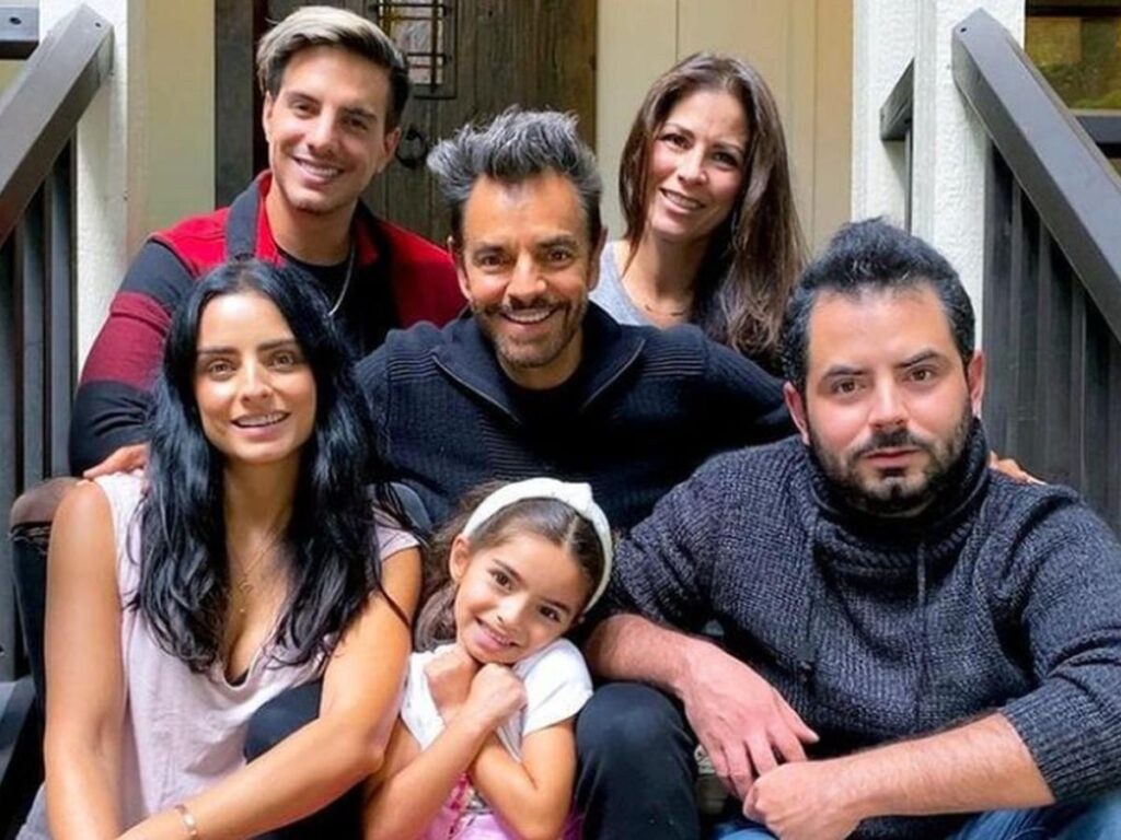 ¿Por qué los hijos de Eugenio Derbez no llevan ese apellido? Foto: Internet