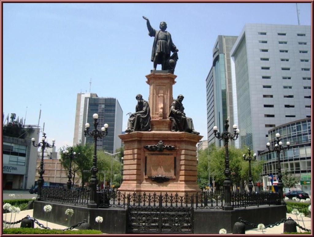 México retirará estatua de Cristóbal Colón Foto: Internet