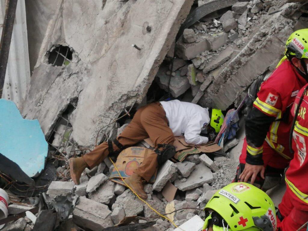 Localizan cuerpo sin vida de uno de los menores fallecidos tras derrumbe del Cerro del Chiquihuite