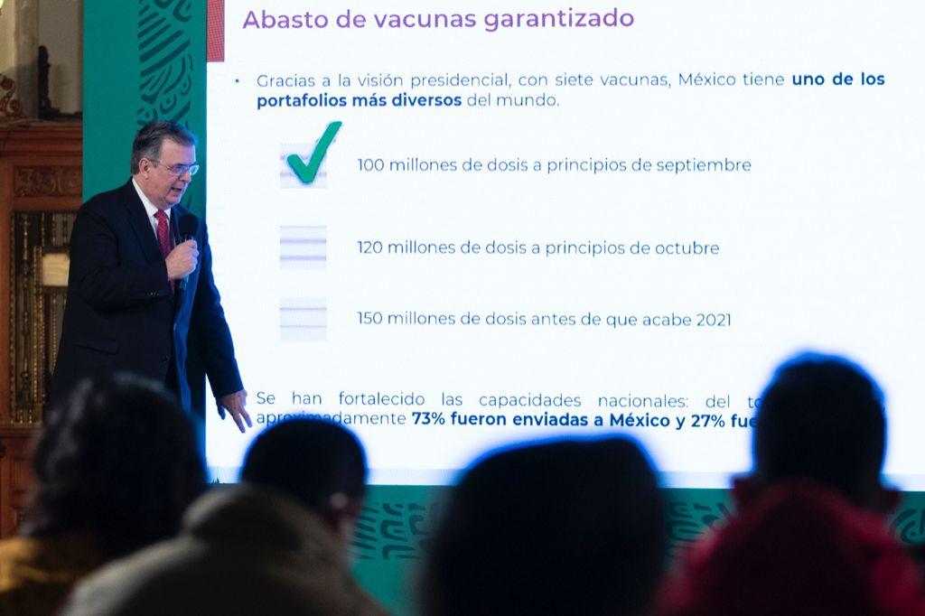 México enviará vacunas a Honduras y Bolivia