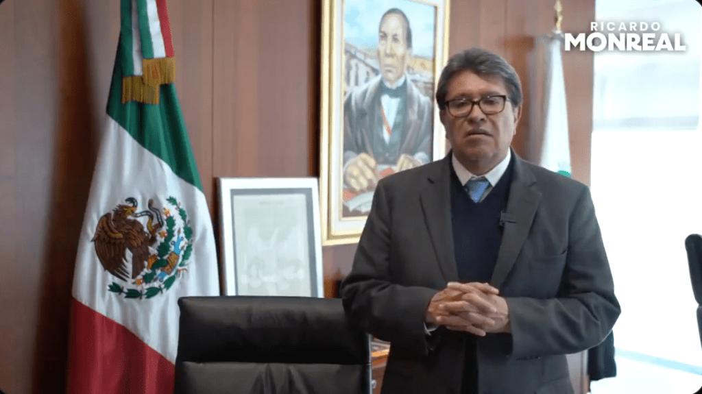 Anuncia Ricardo Monreal diálogo con Gertz Manero para analizar el caso Conacyt Foto: @RicardoMonrealA