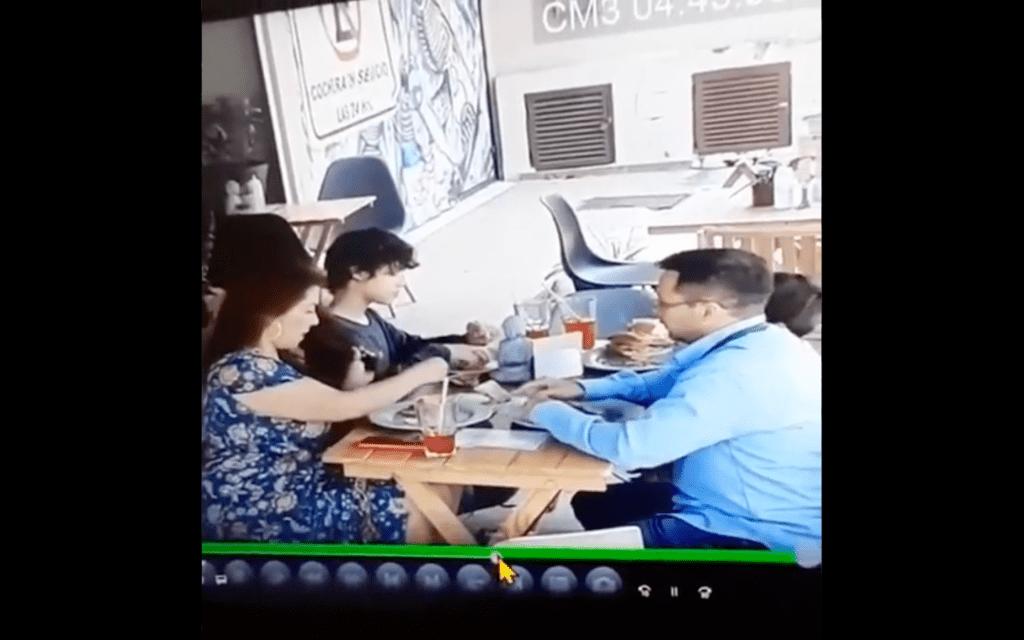 Familia en CDMX pone cabello en alimentos para no pagar comida (Video)