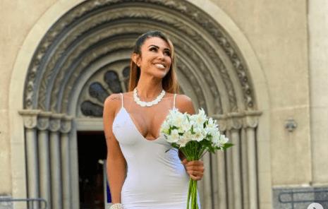 Antes de esperar un hombre, modelo de Brasil se casó consigo misma