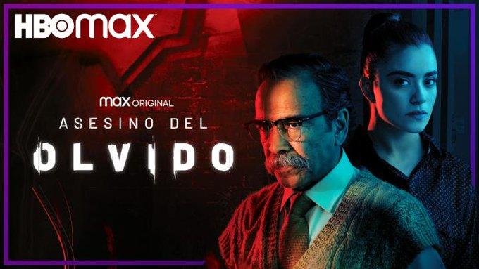 "Damián Alcázar llega con ""Asesino del Olvido"" para HBO Max"