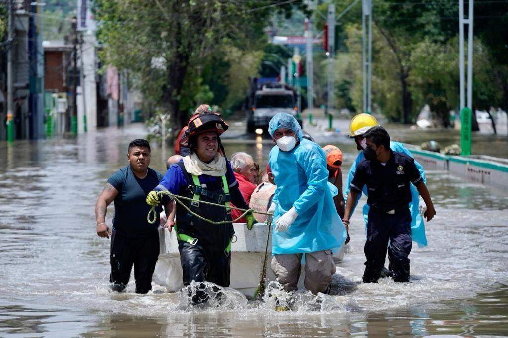Senadoras del PAN denuncian negligencia del IMSS por la muerte de 14 personas en inundaciones en Tula Foto: @IMSS_HGO