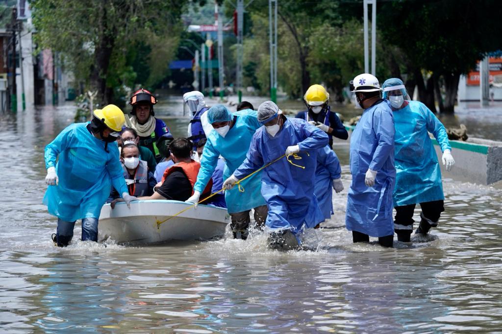Despliega IMSS recursos humanos para garantizar atención a pacientes afectados por inundación en Tula Foto: @Tu_IMSS
