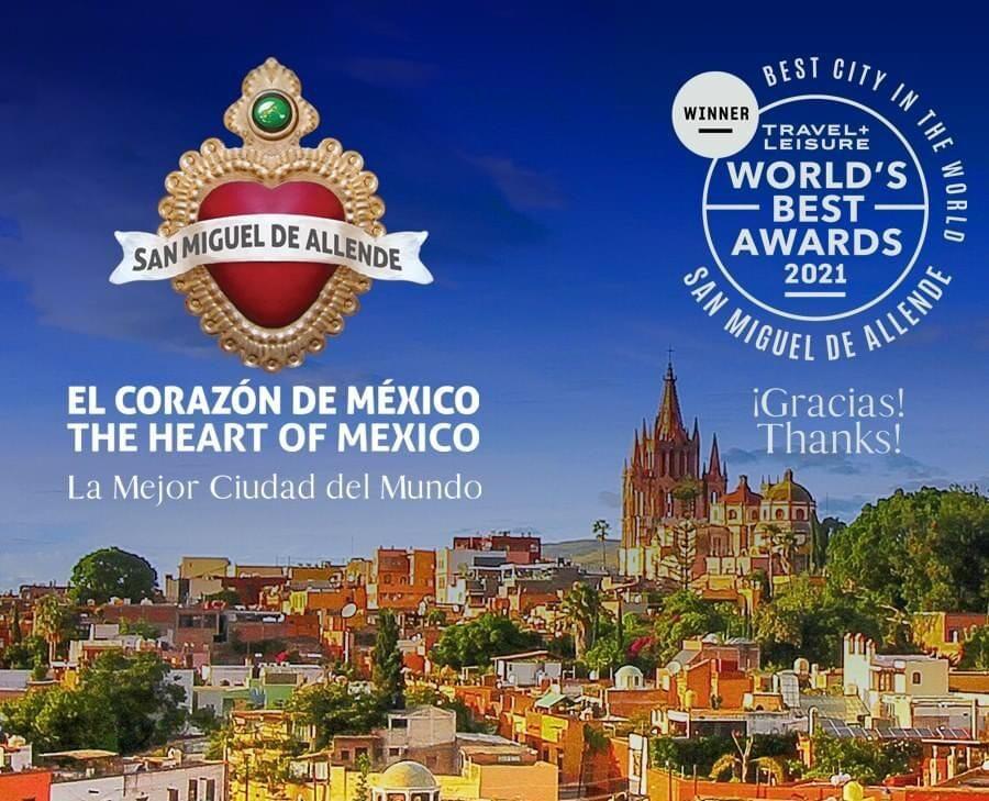 San Miguel de Allende de nuevo la mejor ciudad del mundo: Travel + Leisure