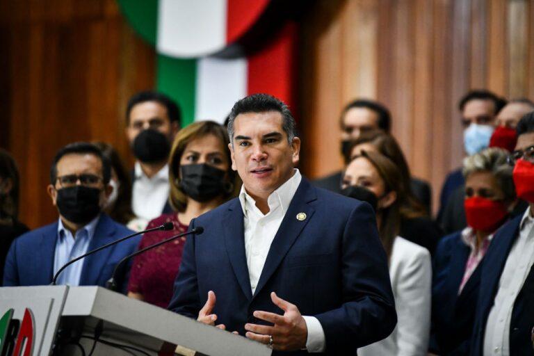 No hay PRI-MOR; firme la Alianza va por México, asegura Alejandro Moreno Foto: @alitomorenoc