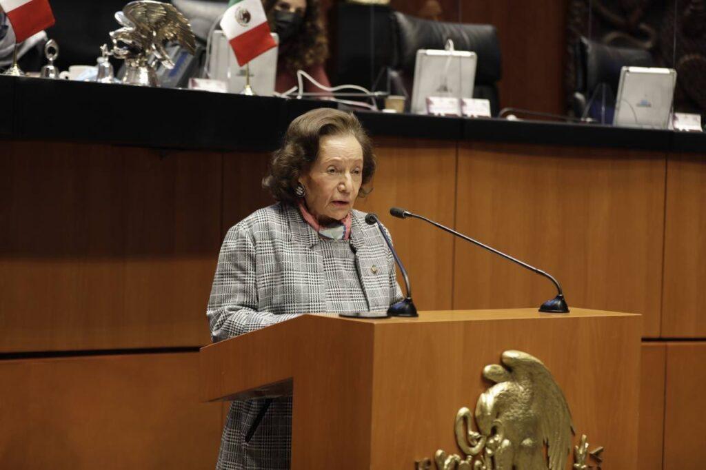 Ifigenia Martínez, propuesta para recibir Medalla de Honor Belisario Domínguez Foto: @IfigeniaMtz