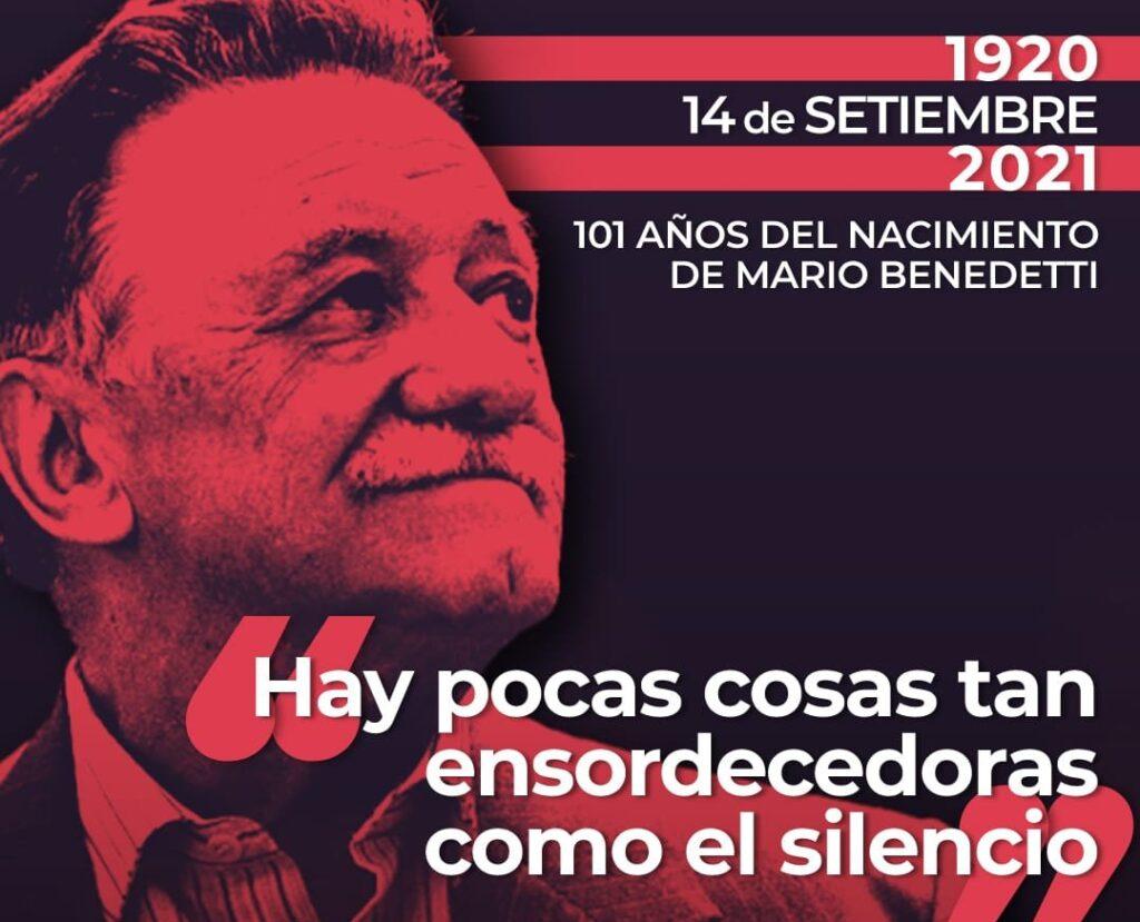 Mario Benedetti y sus mejores frases de amor. El escritor nació el 14 de septiembre de 1920