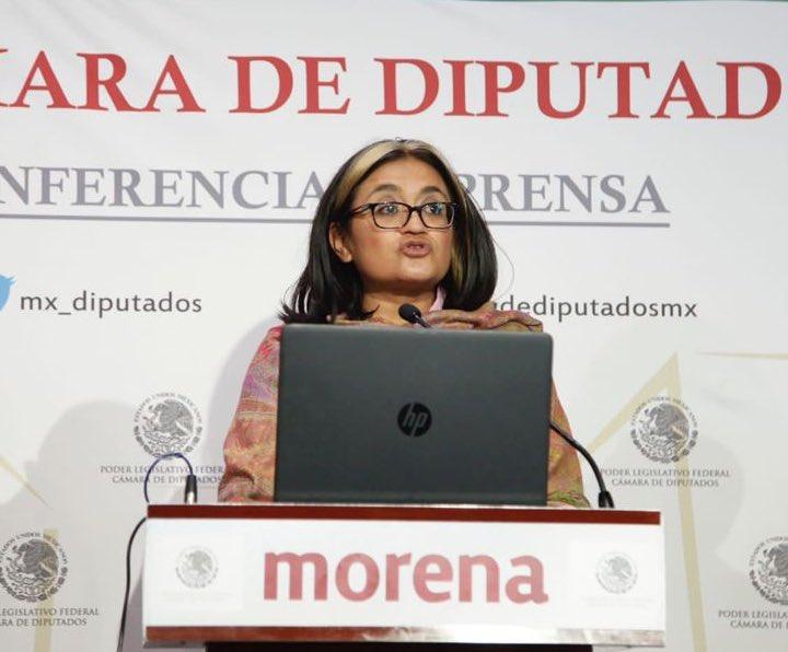 Reconoce Morena que avanza dictamen sobre matrimonio igualitario y autonomía reproducción de las mujeres Foto: @ALEIDAALAVEZ