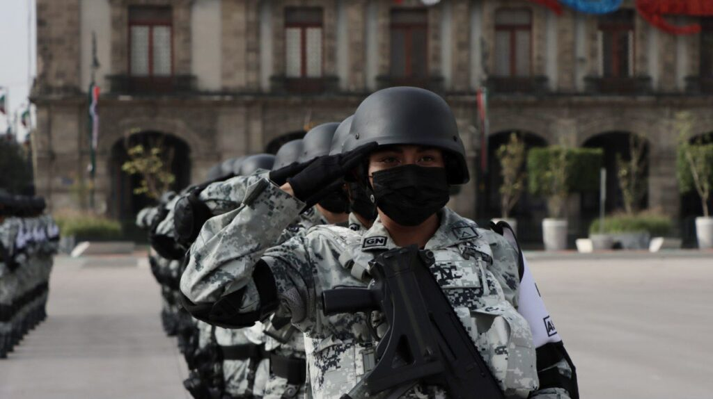 La Guardia Nacional, ejemplo de disciplina y aceptación social Foto: @GN_MEXICO_