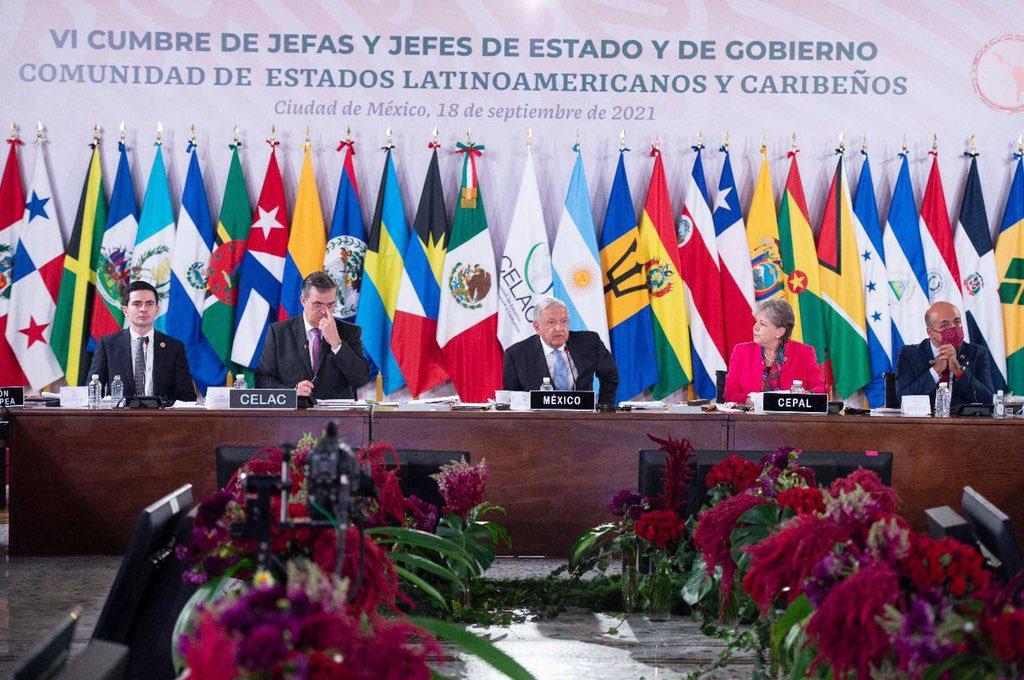 Celebra Ricardo Monreal Cumbre de la CELAC; el Senado hará su parte, resaltó Foto: @RicardoMonrealA