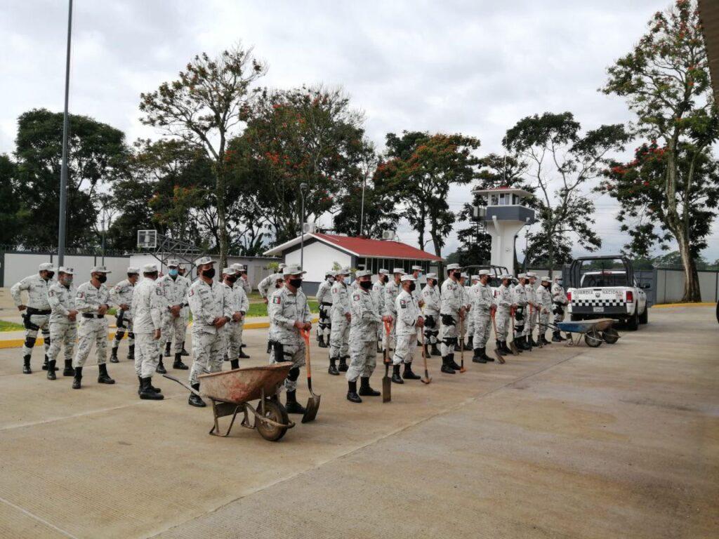 """Acciones de seguridad y los avances de la aplicación de los Planes """"DN-III-E"""", """"Marina"""" y """"GN-A"""" en Oaxaca Foto: @GN_MEXICO_"""