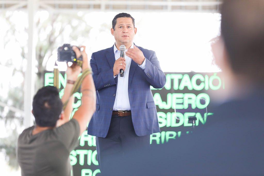Morena acusa a gobierno de Guanajuato de negarse a coordinarse con la federación para enfrentar la delincuencia Foto:@diegosinhue