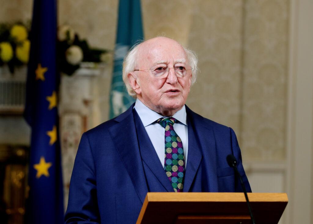 Presidente de Irlanda felicita a México por Independencia