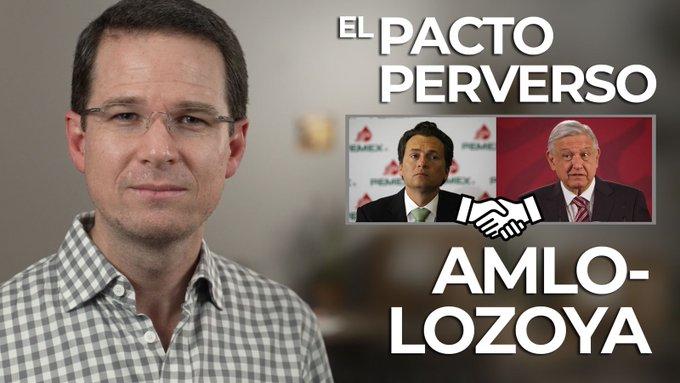 """Con pacto """"fuchi, caca"""" con Lozoya, AMLO me quiere encarcelar: Ricardo Anaya"""