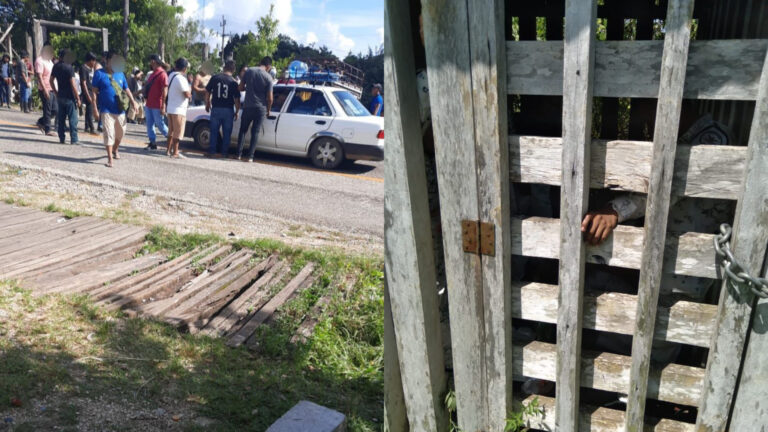 Agentes Federales y de GN fueron liberados de Frontera Corozal en Chiapas