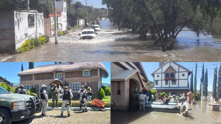 GN aplica Plan GN-A y patrulla Tequisquiapan, Querétaro para evitar actos de rapiña