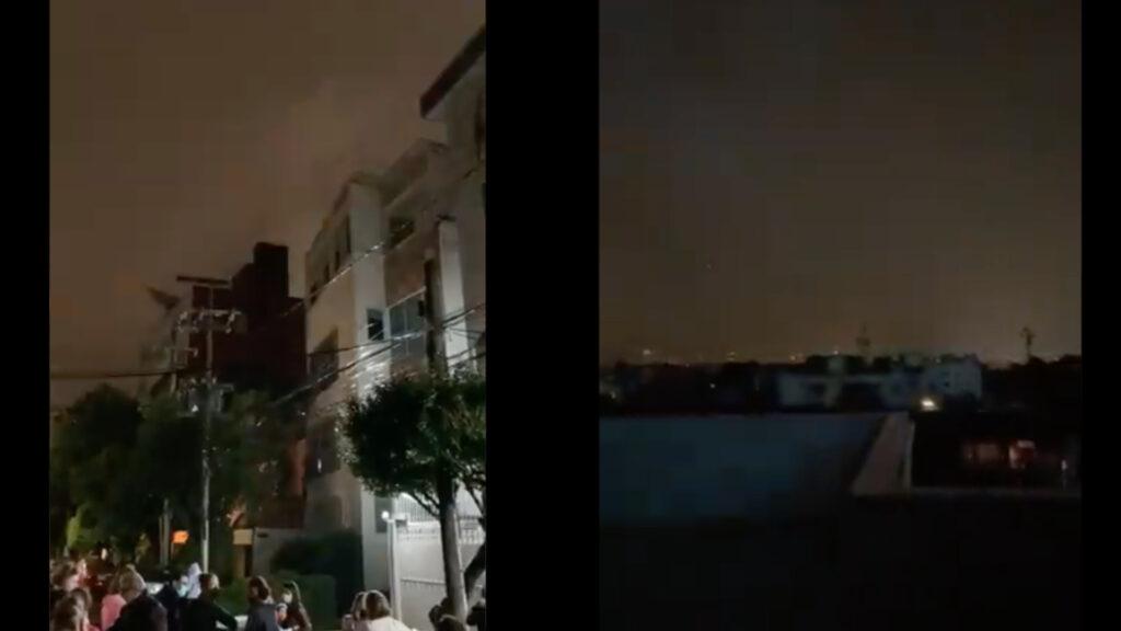 ¿Qué son los destellos de luces del terremoto?