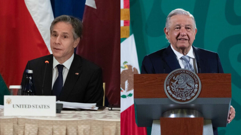 Blinken no visitará México: AMLO