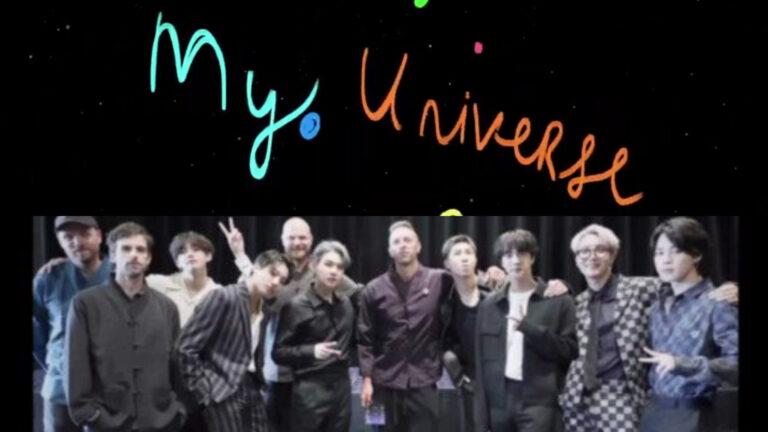 Coldplay lanza My Universe junto a BTS