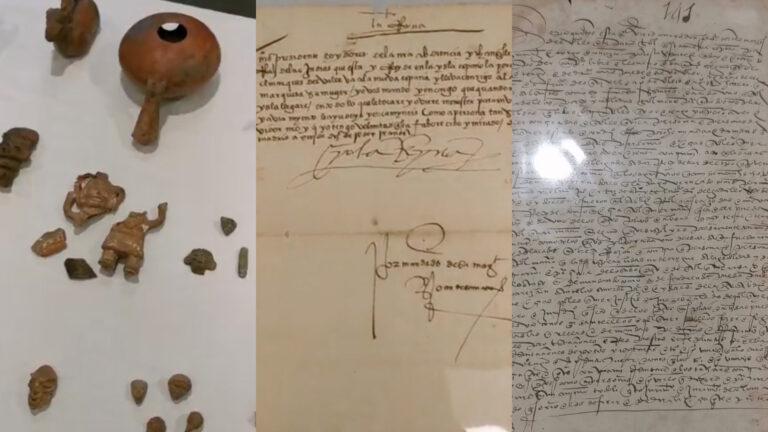 Recupera México objetos como carta de Hernán Cortés y decreto de Reina Isabel