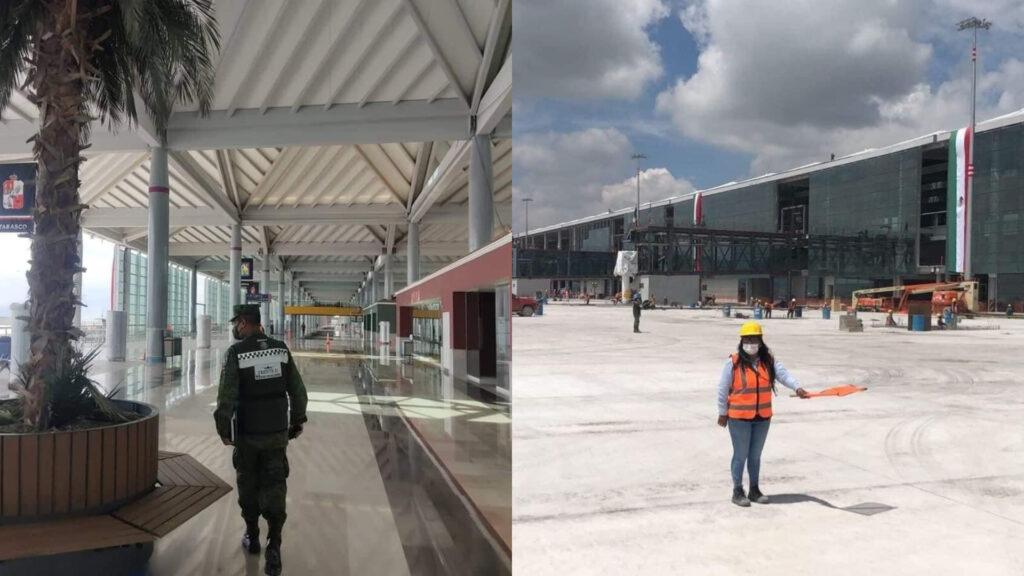 69% de avance del Aeropuerto Felipe Ángeles