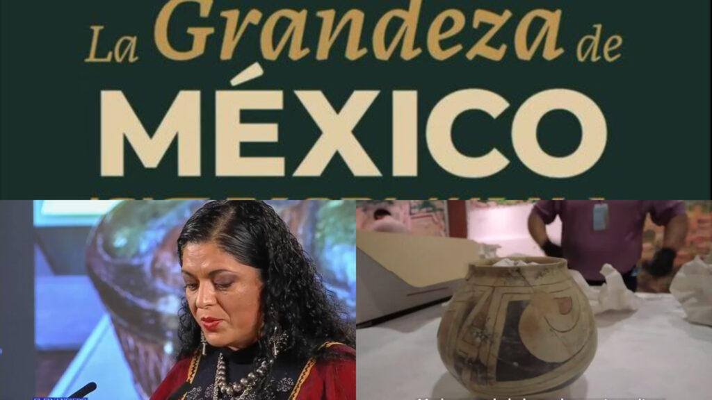 Gobierno recupera piezas arqueológicas mexicanas