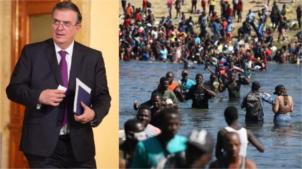 Se atenderá flujo de haitianos: Ebrard