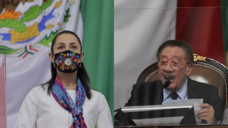 Claudia Sheinbaum, Héctor Díaz Polanco