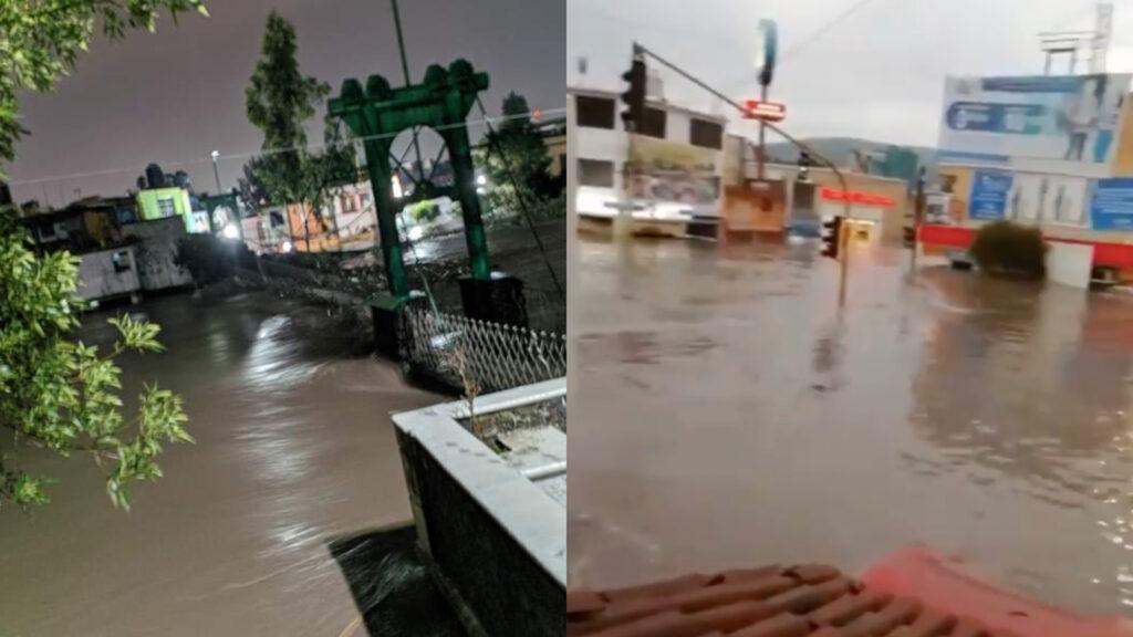 Desbordan ríos en Tula, Hidalgo; aplican Plan DN-III-E