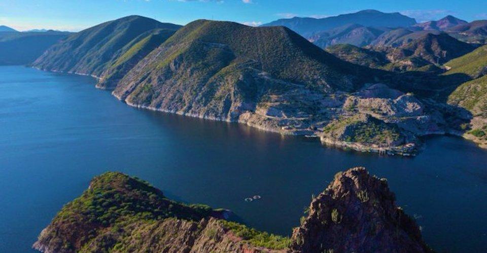 """SSPC y CNPC llaman a la población a evacuar zonas de riesgo por el desborde de la presa """"Zimapán"""" Foto: Internet"""