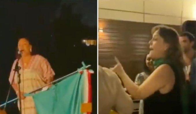 """""""Viva López Obrador"""", así fue el grito de la cónsul Isabel Arvide (Video)"""