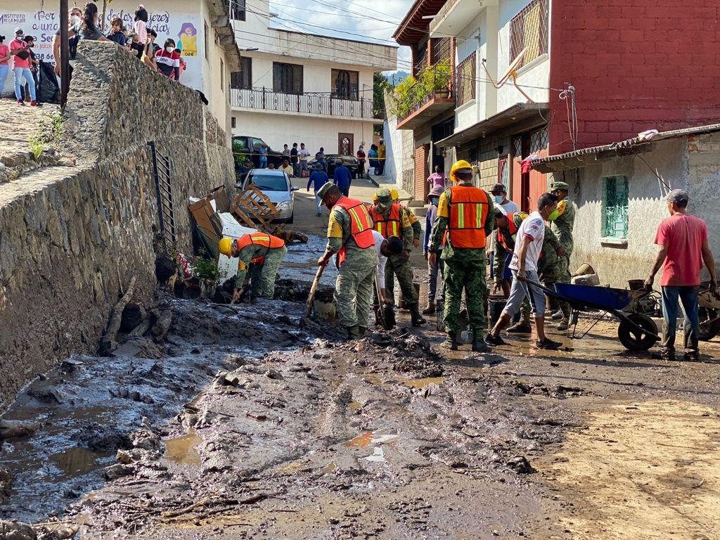 Gobierno de México auxilia afectados por fuertes lluvias en Morelos: SSPC