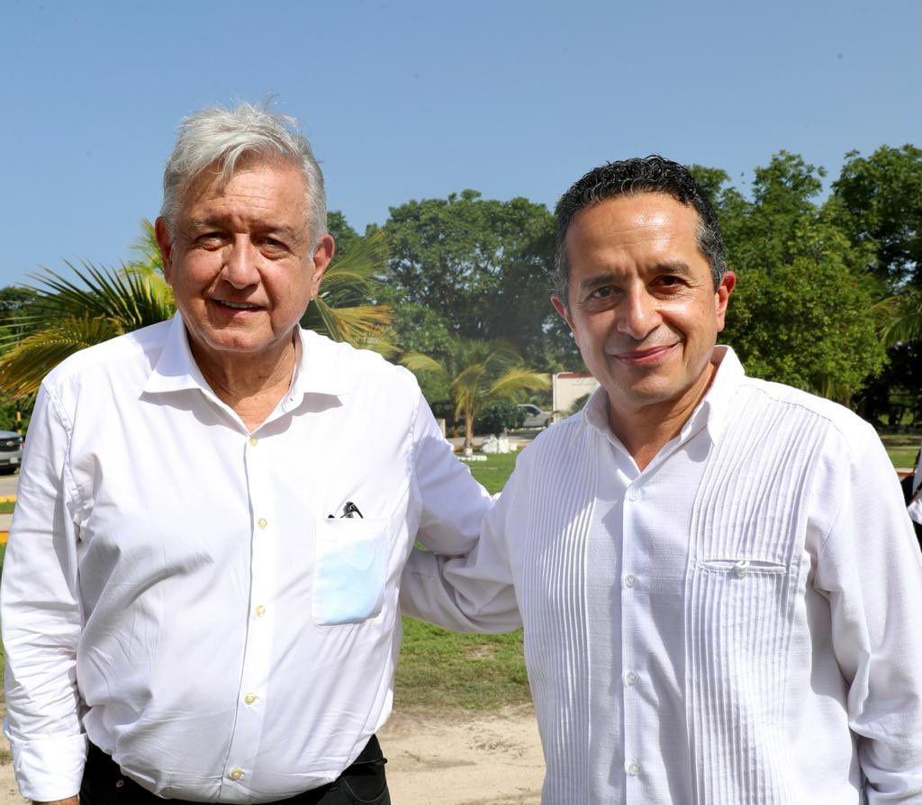 AMLO concluye supervisión del Tren Maya