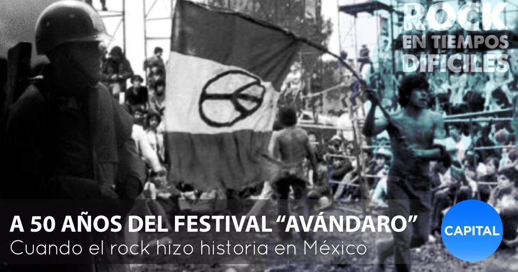 50 años del Festival de Avándaro, la gloria del rock mexicano Foto: Capital México