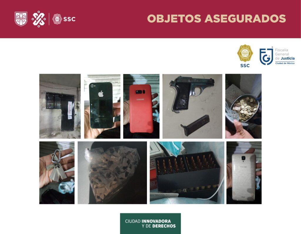 """SSC-CDMX realizó cateos en la alcaldía GAM, luego de la detención de """"El Tío Pilo"""" ***FOTO SSC-CDMX**"""