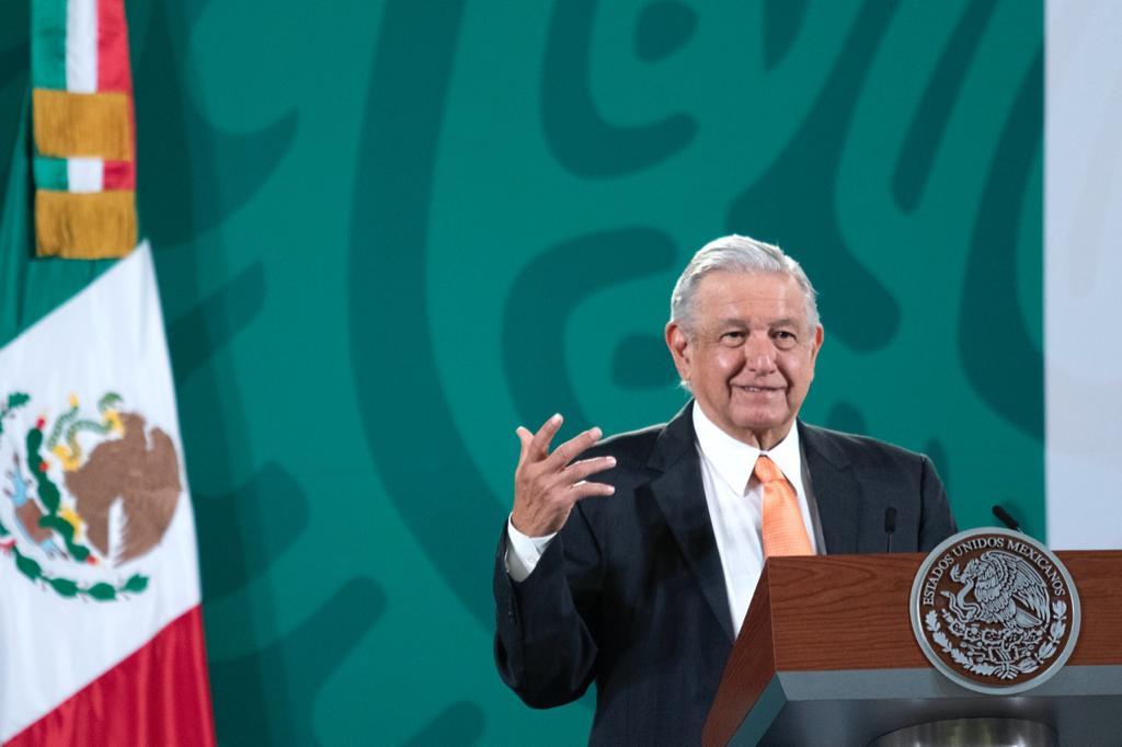 AMLO rechazó que México esté polarizado Foto: Presidencia