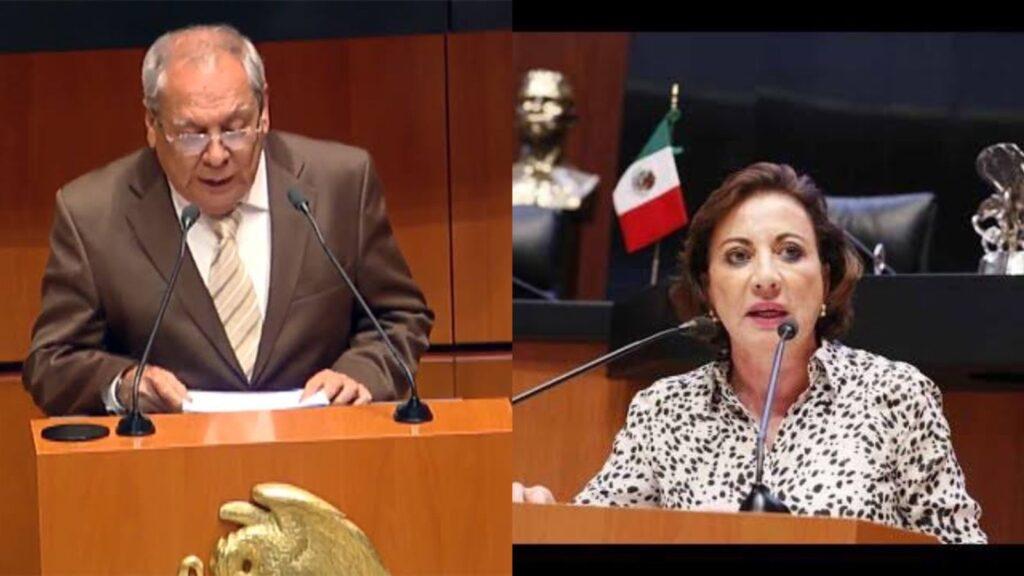 Dos senadores solicitan licencia; serán secretarios de Gobierno en sus estados natales Foto: CM