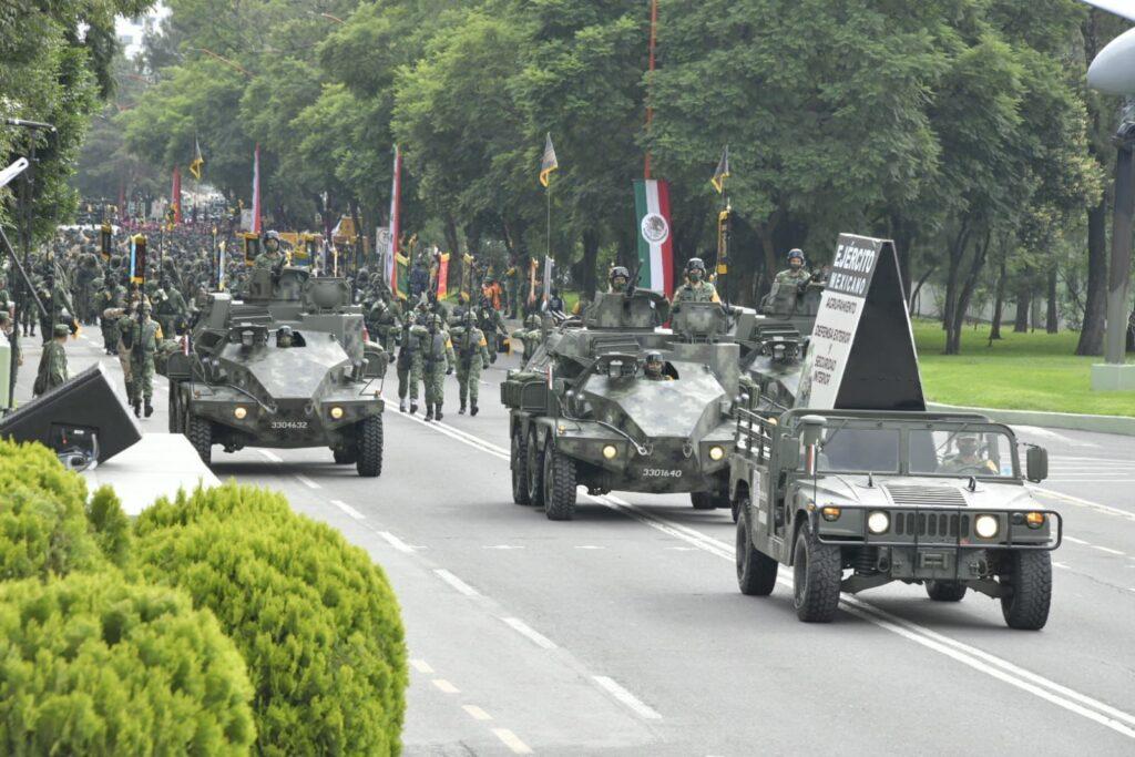 15 mil 165 de las Fuerzas Armadas y 99 aeronaves participarán en el desfile del 16 de septiembre **FOTOS SEDENA***
