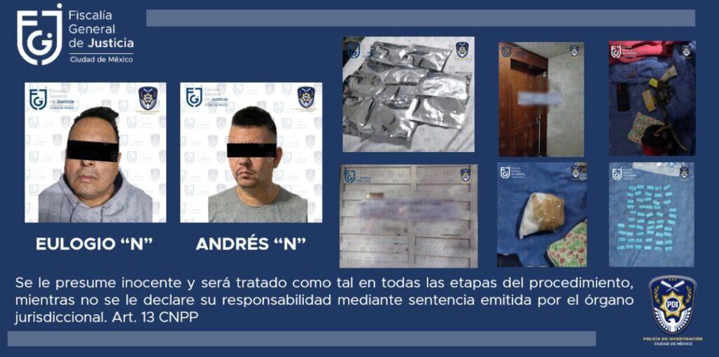 "Juez vinculó a proceso a Andrés Felipe ""N"" alias, ""El Colocho"" o ""El Parcero"" ***FOTOS & VIDEO FGJ-CDMX***"