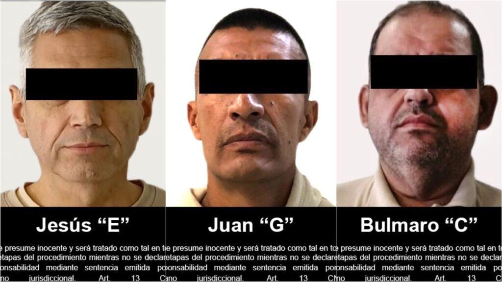 FGR entregó en extradición a tres personas requeridas por autoridades de EUA ***FOTOS FGR***