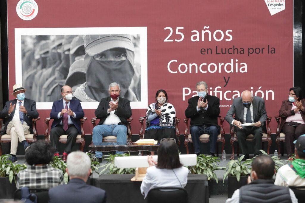 """Pide José Narro Céspedes reconocer """"Acuerdos de San Andrés Larráinzar"""" Foto: Internet"""
