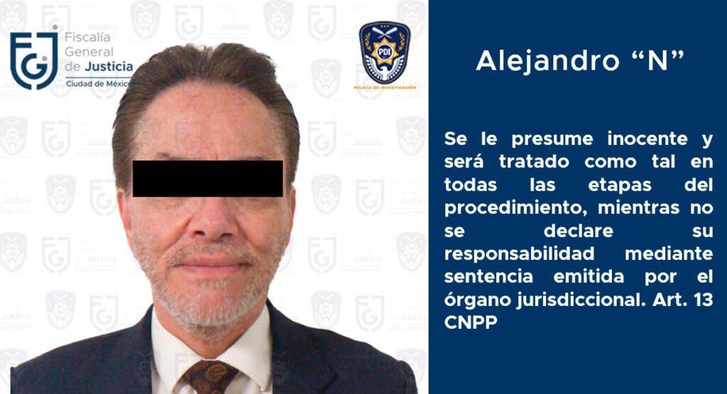 Juez de control determinó vincular a proceso al empresario Alejandro Del Valle, por el delito de fraude ***FOTOS & VIDEO FGJ-CDMX***